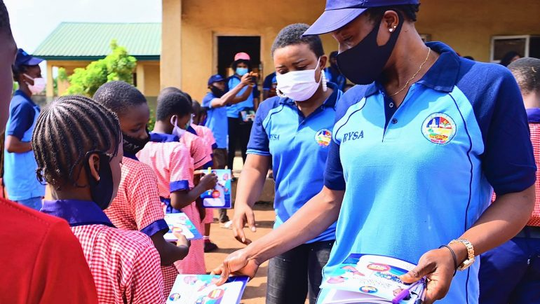 RYSA2020 trainees engage in community service